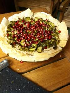 pomegranate tart 2